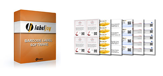 Labeljoy, software codici a barre, software etichette