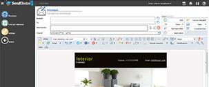 SendBlaster, software per Newsletter